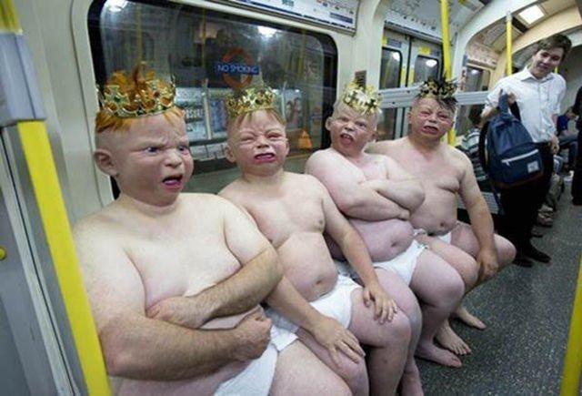 фото смешных голых людей