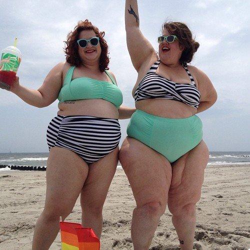 Ах, эти милые толстушки....!