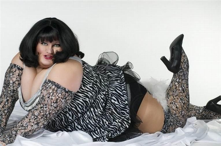 фото жирной дамы