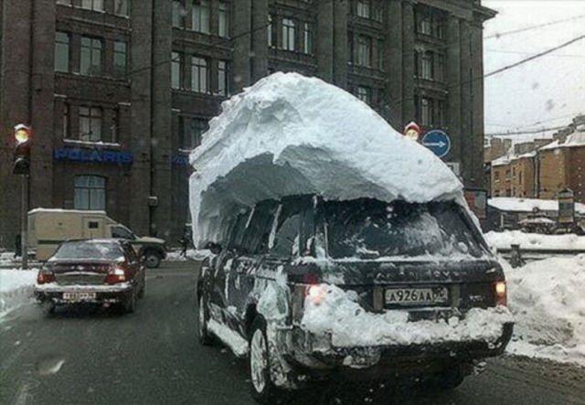 Суровая зима!