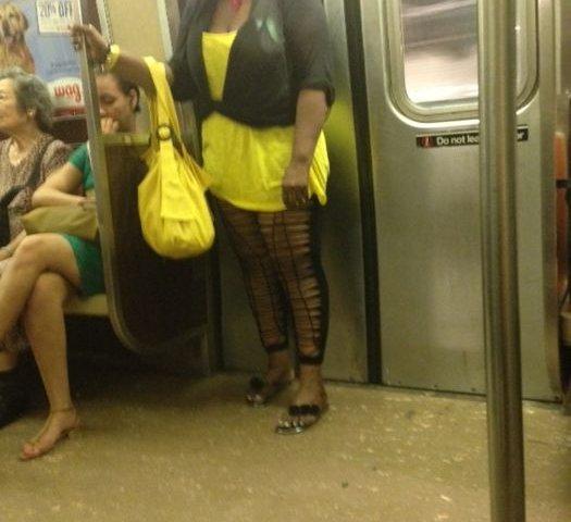 Чудики из общественного транспорта!