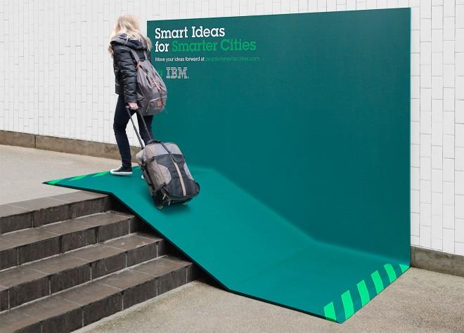 Супер-эффективная уличная реклама, которая превосходно выполняет свою работу