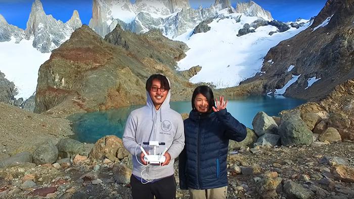 Невероятное видео от пары, совершившей кругосветное путешествие вместе с дроном
