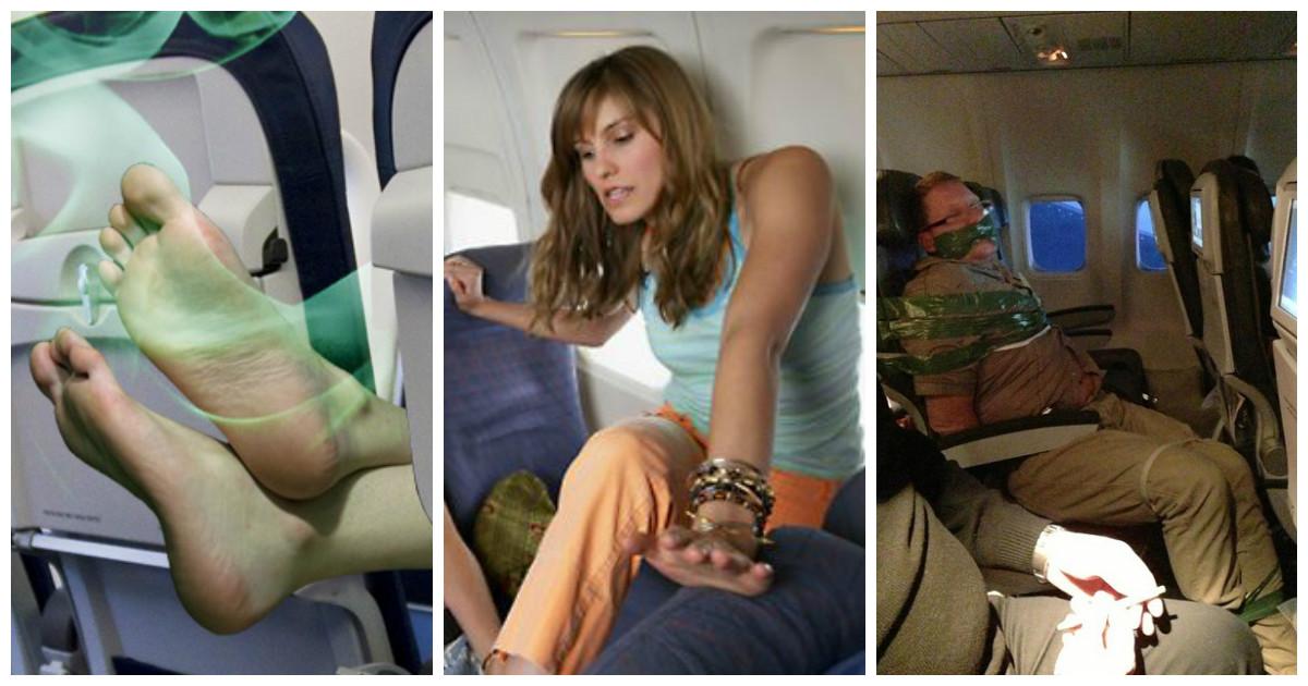 Вещи, которые точно не стоит делать в самолете