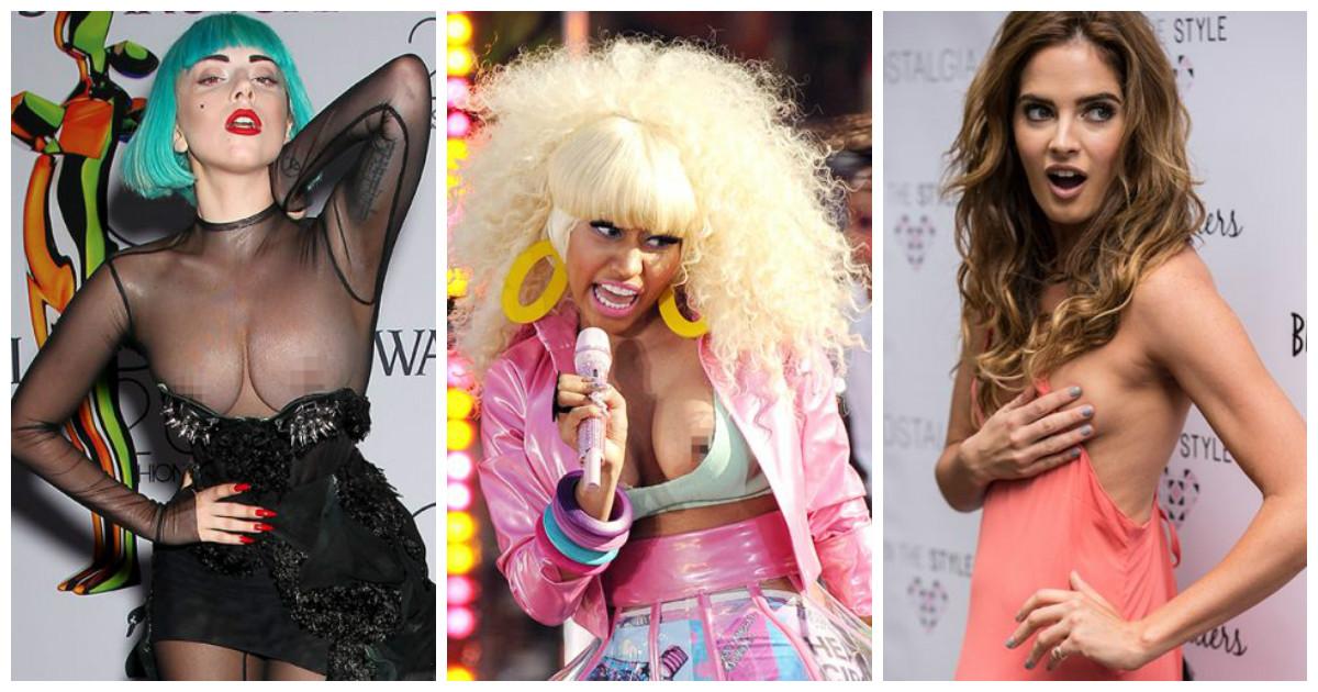 15 неловких моментов, когда одежда подвела модную знаменитость