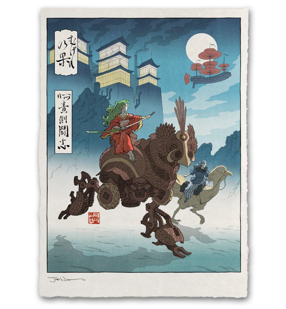 Художник перерисовал популярных героев игр на японский манер. Слабо отгадать всех?