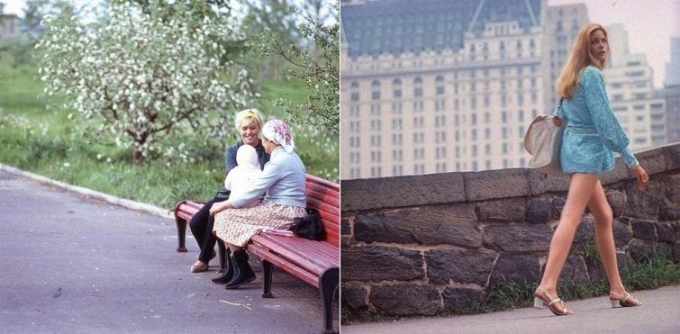 Москва VS Нью-Йорк: какими они были почти полвека назад