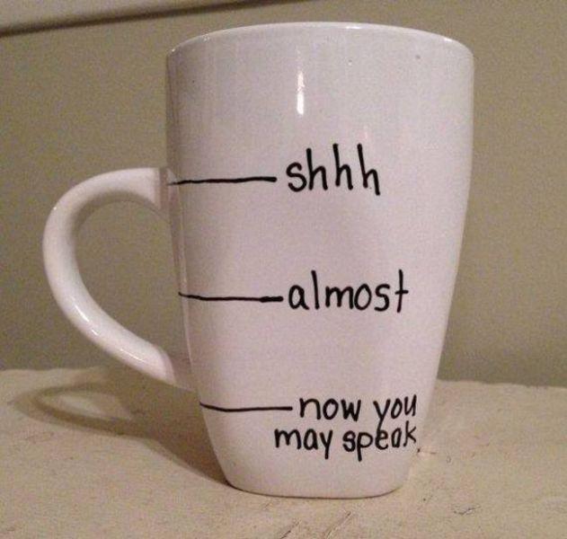 Такое бывает, когда забываешь выпить утренний кофе