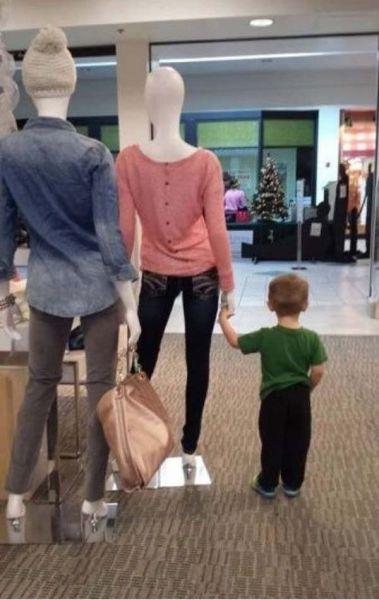 Шопинг с детьми - это что-то с чем-то!
