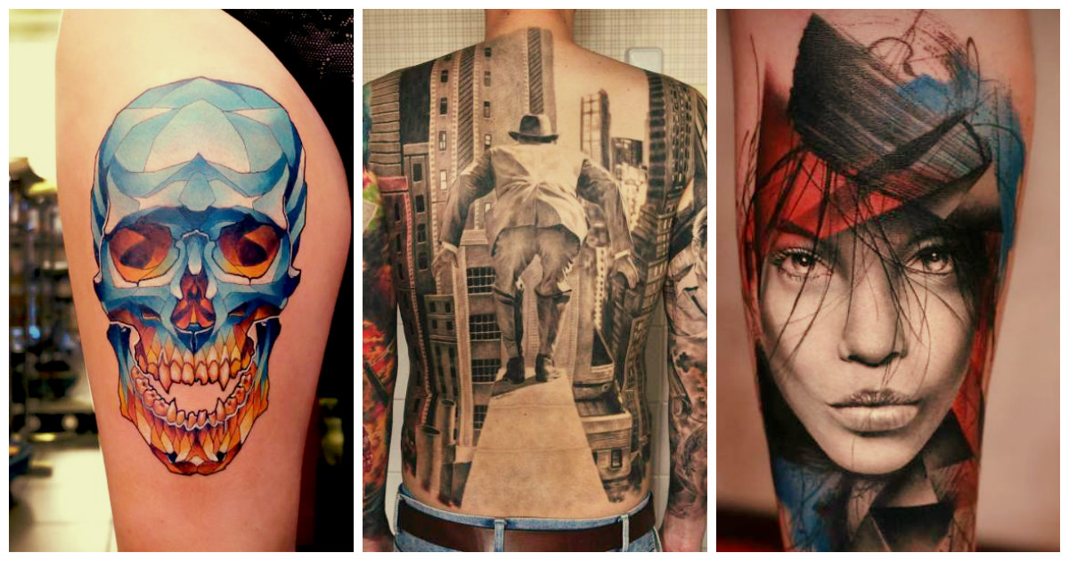Ваша татуировка просто космос!