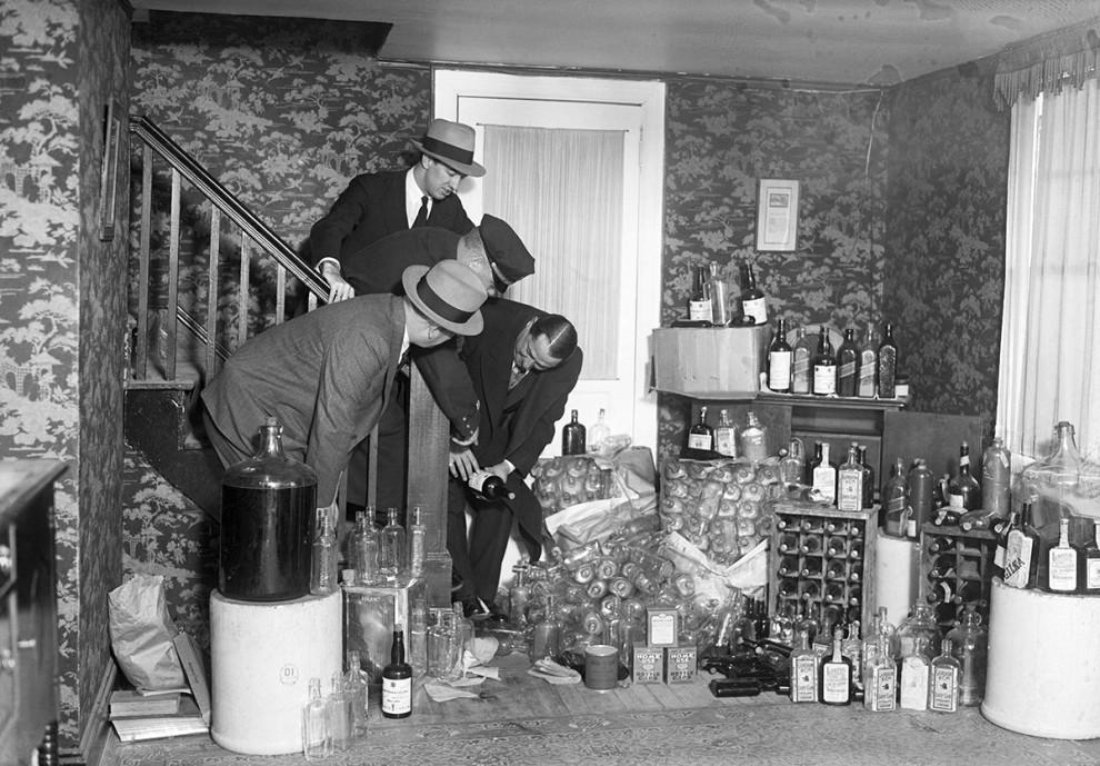 """Вот как выглядели США во время """"сухого закона"""" с 1920 по 1933 год"""