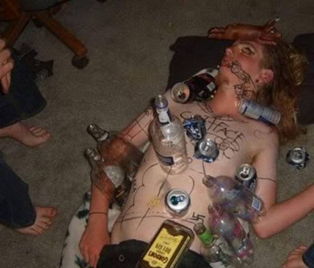 Когда твои друзья творческие личности, да еще и пьют лучше тебя