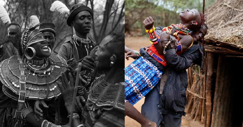 Секс обычаи народов африки смотреть