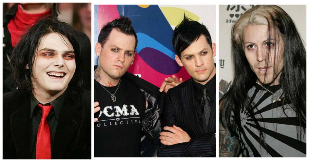 Знаменитые мальчики-эмо тогда и сейчас