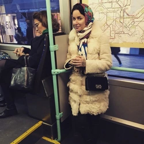 Знаменитости в общественном транспорте