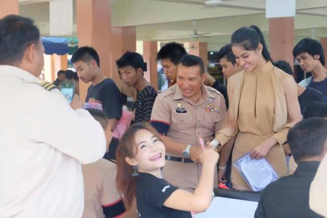 Пришло время весеннего призыва в Тайланде