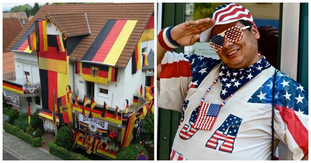 Вне зависимости от страны найдутся люди болеющие патриотизмом головного мозга