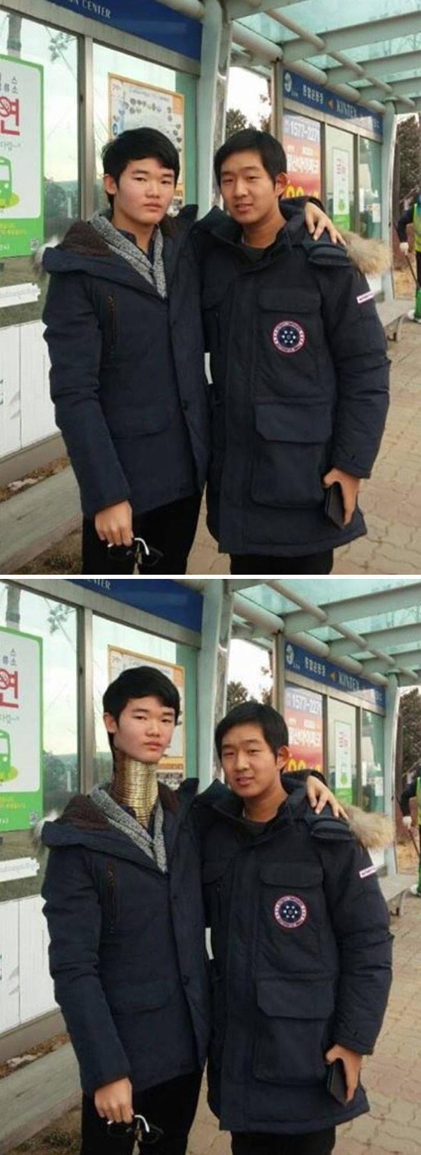 Беспощадный корейский фотошоп