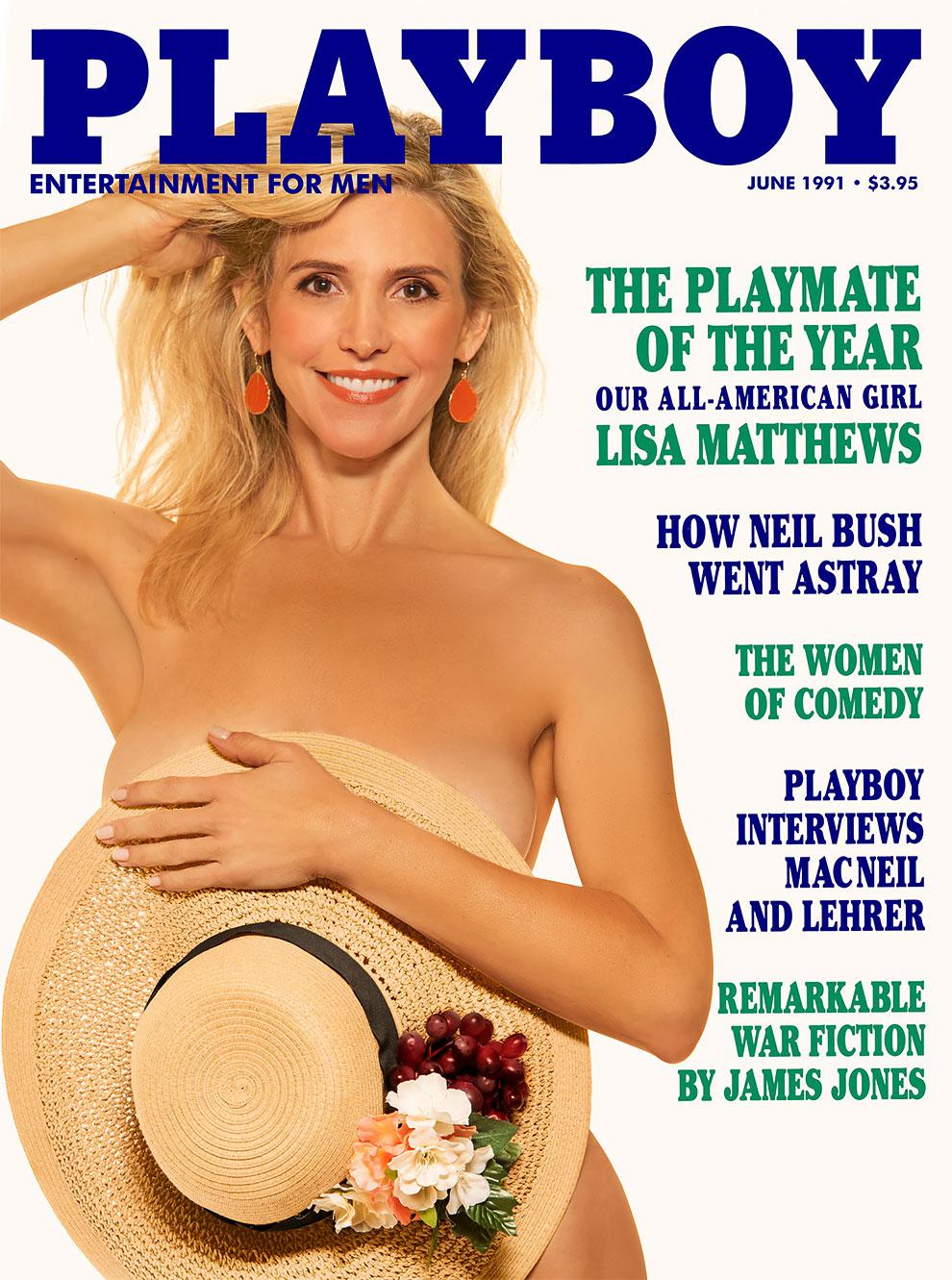 Фотографы воссоздали обложки Playboy спустя годы и вот что у них получилось