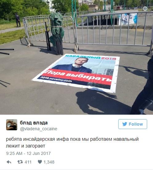 Реакция соцсетей на антикоррупционный митинг и арест Навального