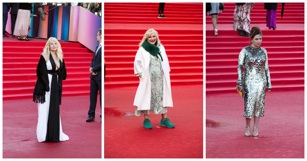 Безвкусица и знаменитости московского кинофестиваля идут рука об руку