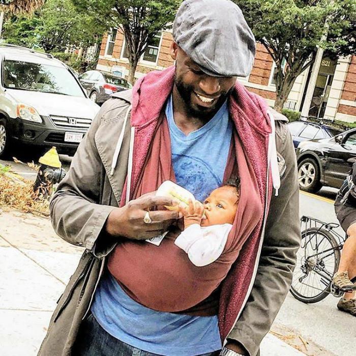Счастье отцовства: самые трогательные фотографии пап