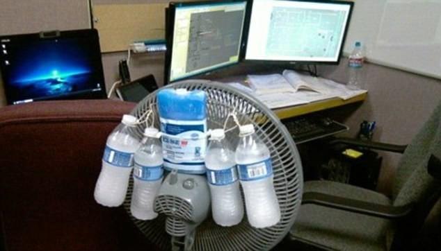 Остроумные и не очень способы борьбы с жарой