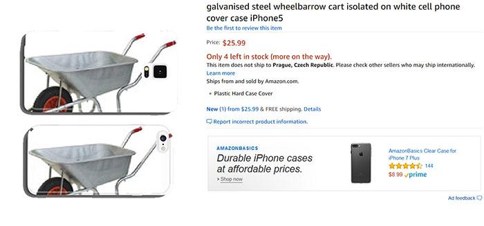 ИИ создающий чехлы для телефонов в магазине Amazon сошел с ума