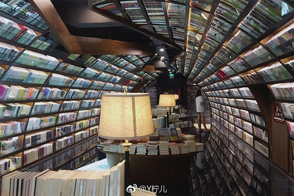 Бесконечный книжный магазин Янчжоу