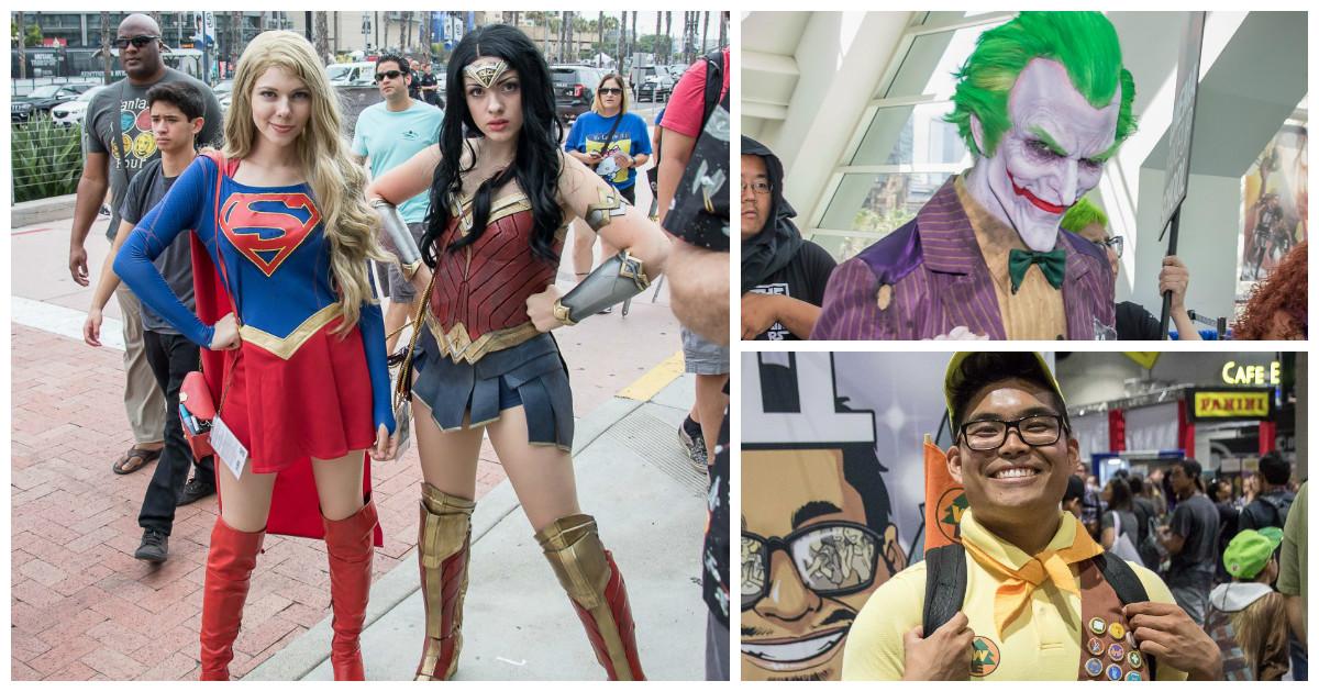"""Лучший косплей с конвента в Сан Диего """"Comic-Con International 2017"""""""
