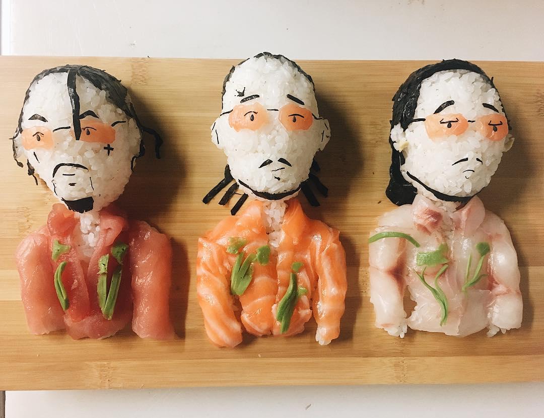 Уникальные суши от шеф-повара из Милана