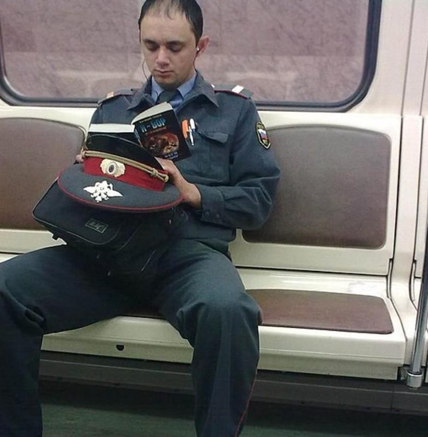 Такие загадочные эти господа полицейские