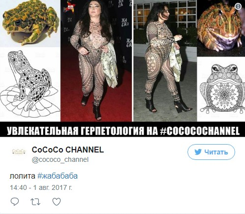"""Цекало кусает локти: реакция соцсетей на """"стриптиз"""" Лолиты"""