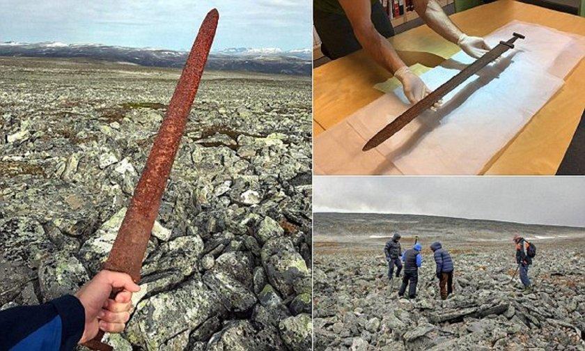 Норвежский охотник нашел старинный меч викингов
