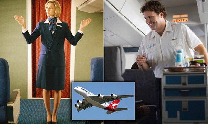 Секс проводник и стюардесса