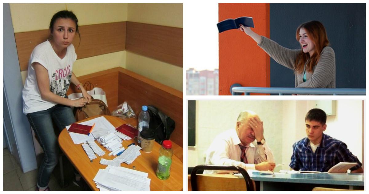 Время сессии - самое интересное время года для студента