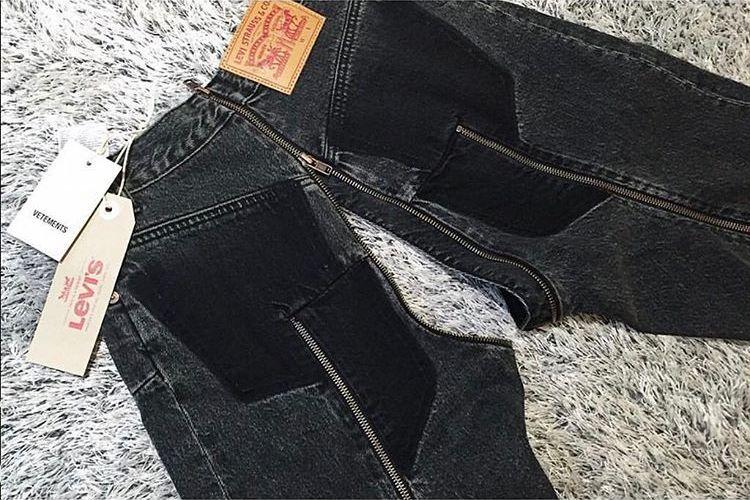 """Слишком """"модные"""" джинсы, чтобы носить их в России"""
