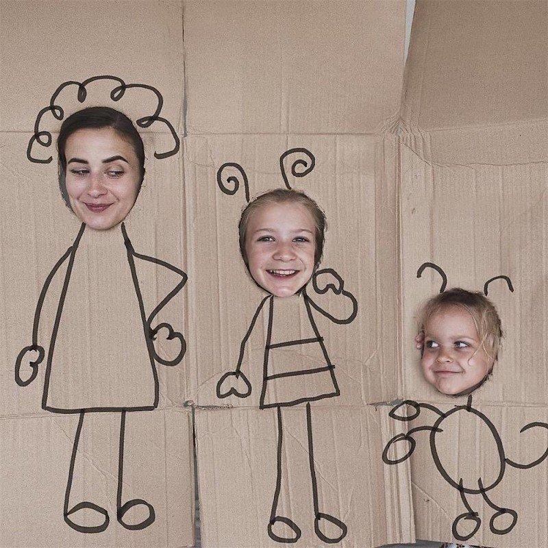 creativas de hija y mamá