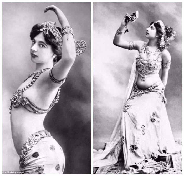 Прекрасные танцы Маты Хари