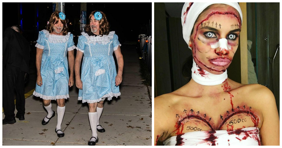 Кому, как ни звездам Голливуда удивлять нас костюмами на Хэллоуин