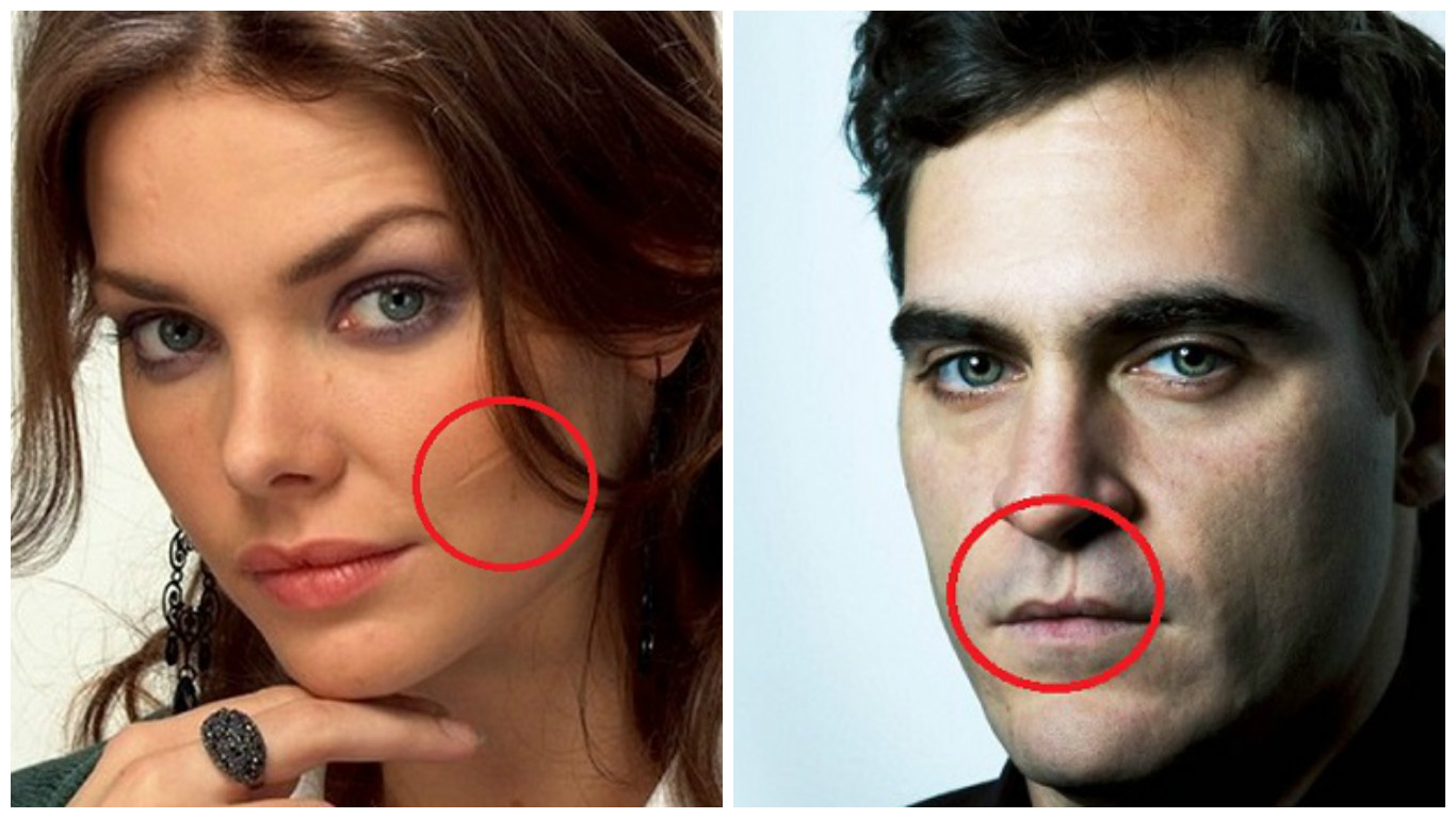 Сексуальные девушки со шрамами на лице