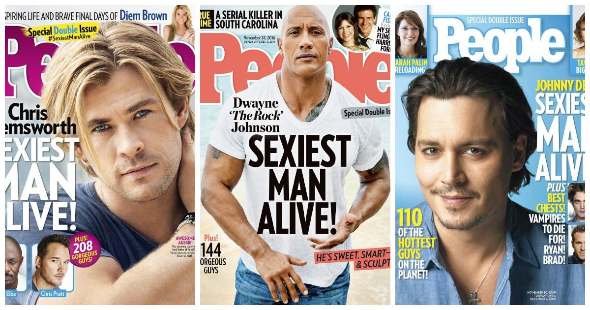 По версии журнала People за 32 года сексуальные мужчины все еще не перевелись