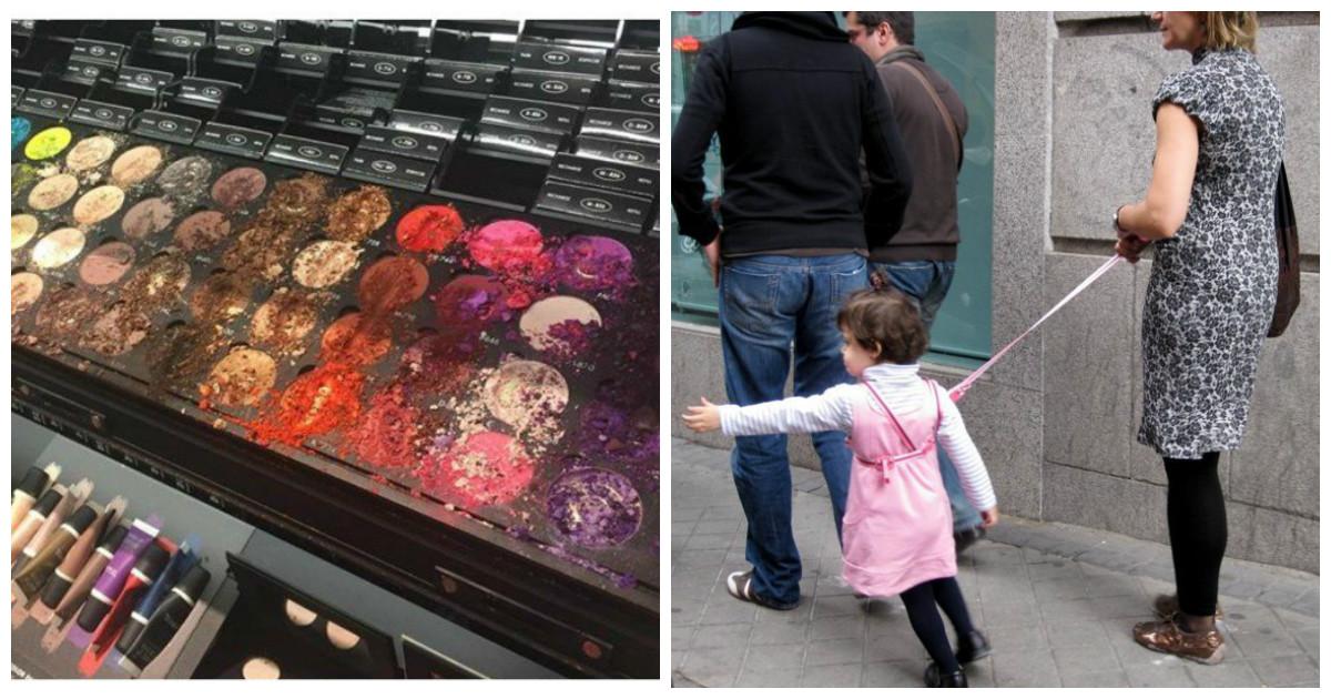 Как связаны воспитание детей и разгром косметического бутика на кругленькую сумму?