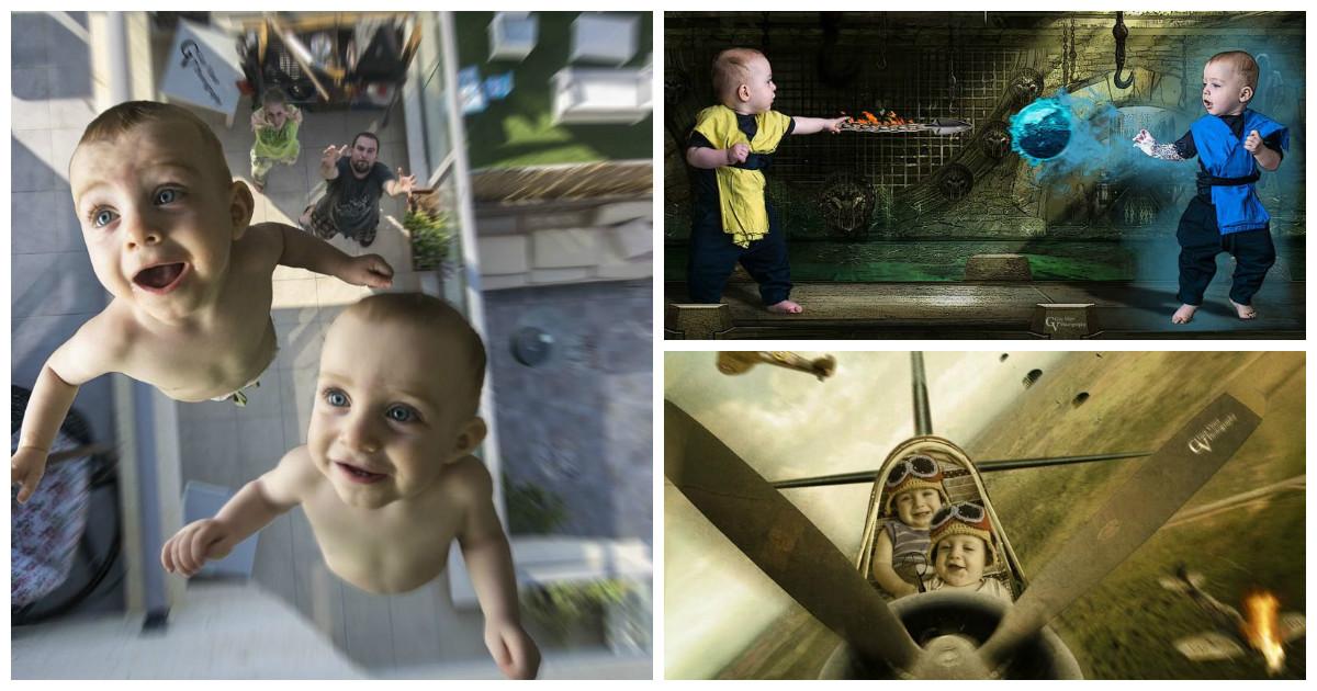 Нескучная жизнь младенцев по версии папы фотографа