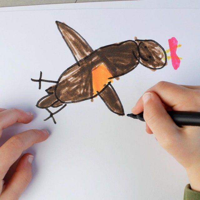 Ожившие детские рисунки не для слабонервных