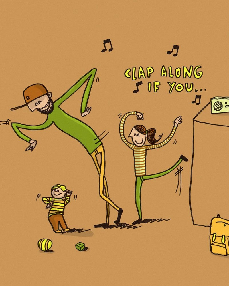 Забавные и странные ситуации связанные с отцовством