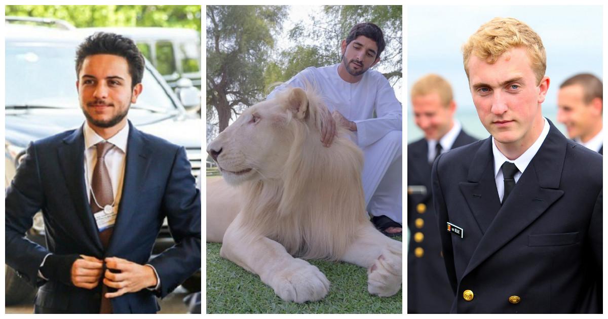 Для тех, кто ищет своего принца, вот несколько свободных кандидатов