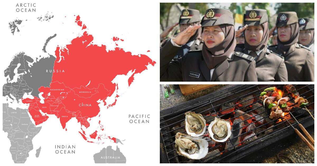 Азиатские страны все еще полны секретов, способных шокировать