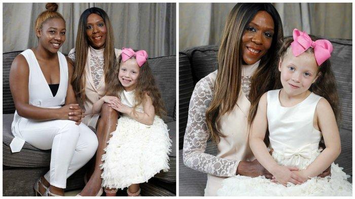 У темнокожей женщины родилась белая девочка