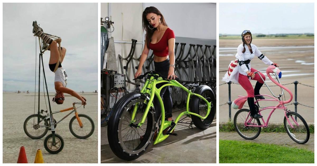 А они все продолжают изобретать велосипед...